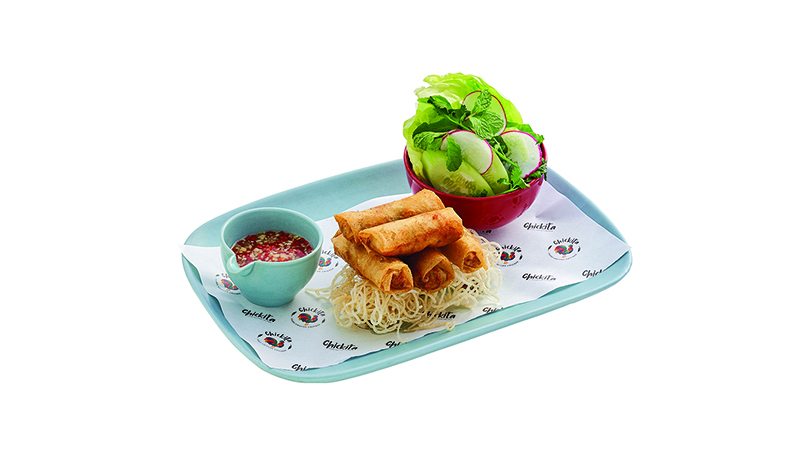Crispy chicken spring roll 5pcs